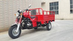 Three Wheel Motorcycle use for Cargo 200CC with Gear Boost Rear Axle