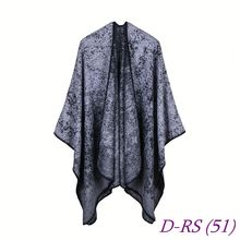 Poncho shawl scarf muffler for girls,woman hijab voile modal tassel printing printed 100 viscose scarf