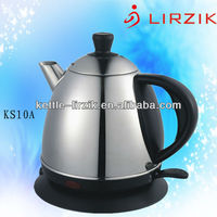 Mini cordless stainless steel kettle KS10A /Brands of home appliance/ kitchen appliance