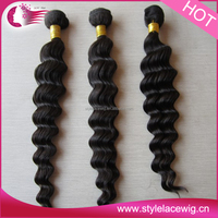 High Quality Weft 100% yaki Human Hair Curly Weave