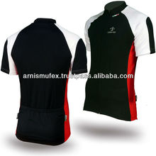 wholesale Full zip cycling jersey with custom logo options with no minimums