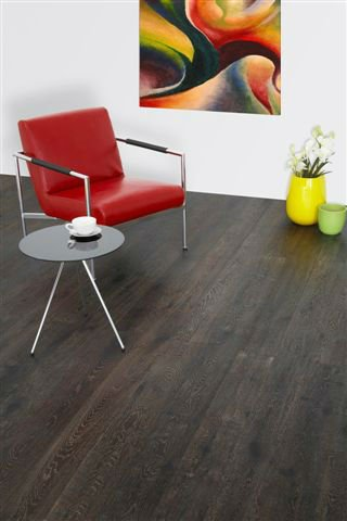 Smoked Oak wood floors London, Dublin