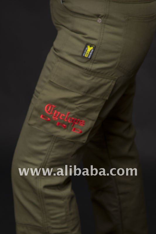 Ladies branded Kevlar Motorcycle Pants