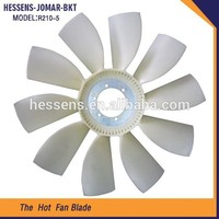 Fob price shell electric box fan blade part for excavator