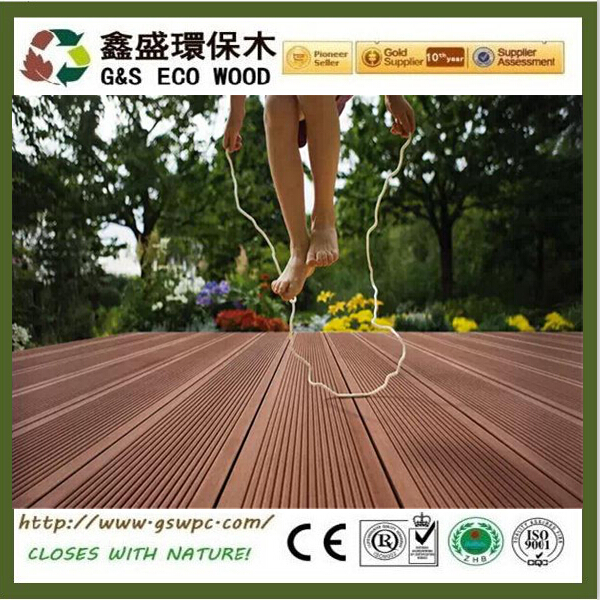 2016 manufacturer price!!wood plastic floor boards good price outdoor wpc decking new tech wood plastic composite wpc board