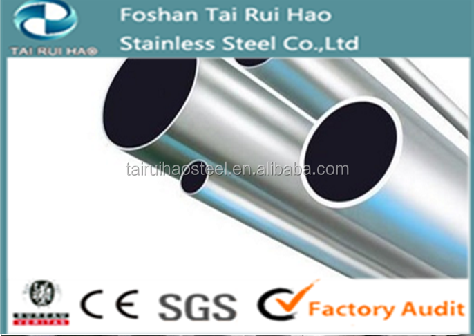 Top 321 Ti seamless stainless steel pipe for decoration