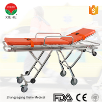 Professional Hospital Equipment Wheeled Stretcher With