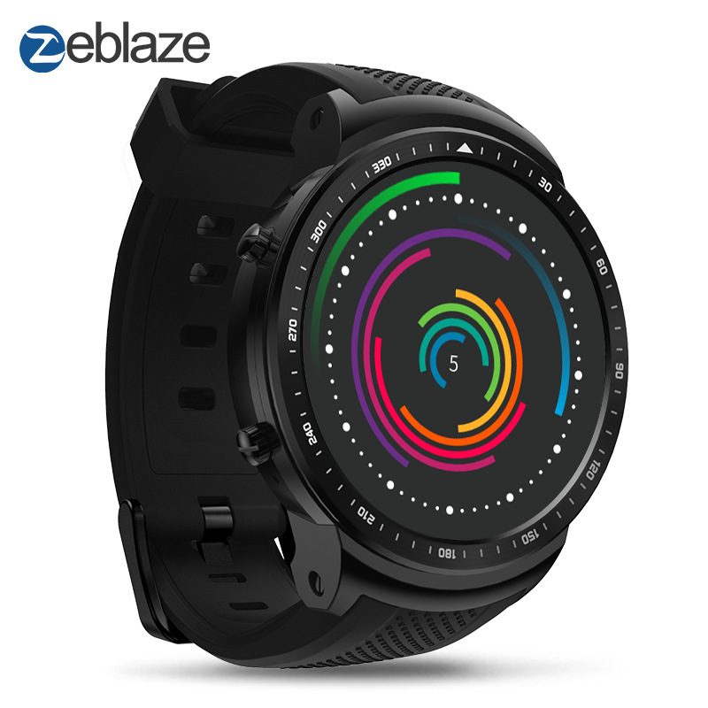 Zeblaze THOR PRO <strong>1</strong>.53&quot; <strong>1</strong>+16GB Memory GPS Global Positioning Smart Watch