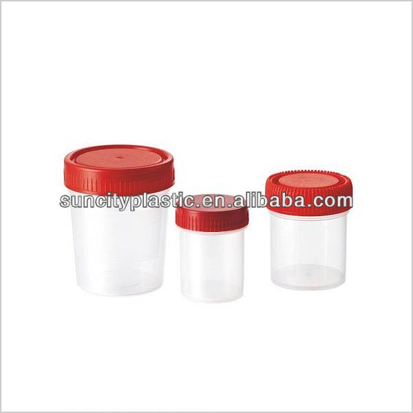 30ml/1oz, 60ml/2oz, 100ml, 120ml/4oz Urine Containers from China Supplier