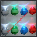 LED Flashing Rainbow Heart Finger Lights