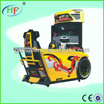 simulation video racing game machine need for speed car