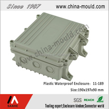 plastic waterproof electrical box