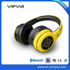 V4.0 wireless bluetooth stereo headphone with working range 10m,support SD/TF card