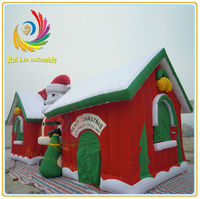 Christmas Santa Inflatable Bounce House/Inflatable Christmas House
