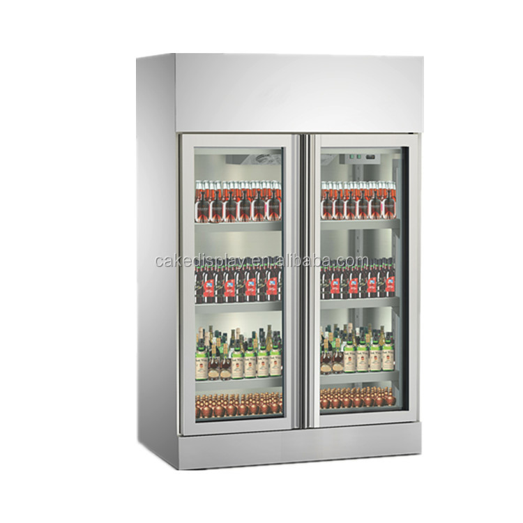 2018 Cheap Price Commercial Used Glass Door Refrigerator Freezer