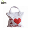 Cotton Tote Shopping Bag With Colorful