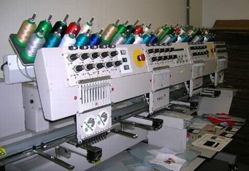 Melco Emt10 4t Price Reduced Embroidery machine