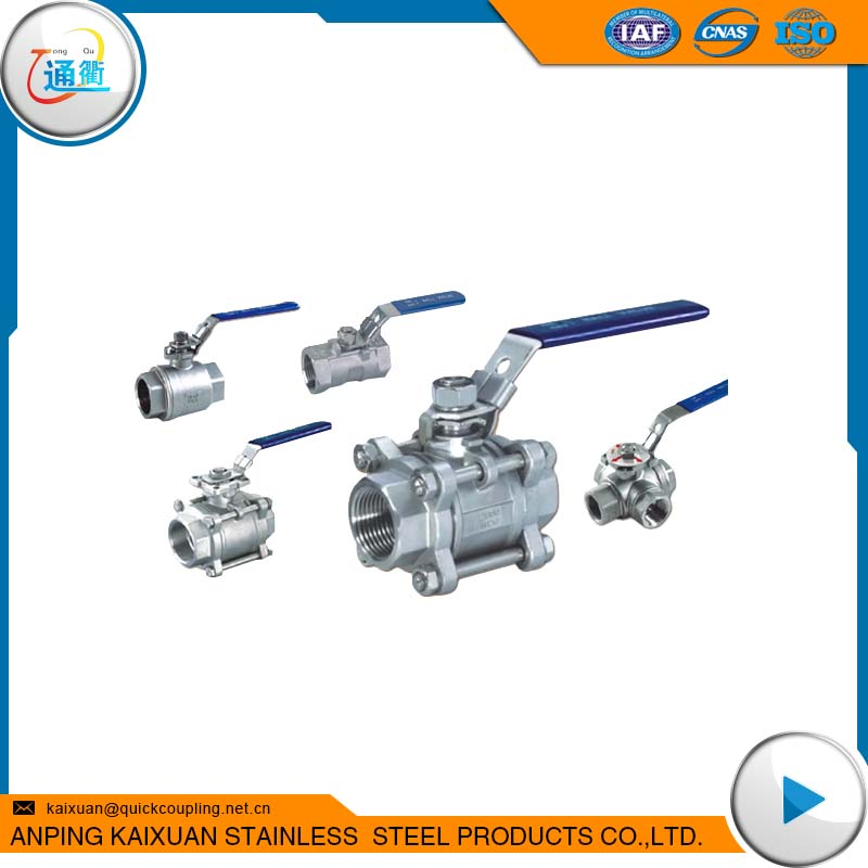 cheaper price and hot sale stainless steel ball valve