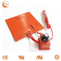 silicone rubber hot pad hotplate variable heating element