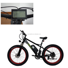 Rear motor 8fun motorized big wheel bicycle 26 inch fat tire electric dirt bike