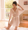 Chiffon White Transparent Sexy Erotic Babydoll Hot Women Chemise Lingerie