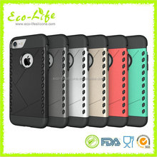 Newest Aegis design Hard PC Soft Silicone Phone Case for iPhone7