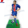 Beckham Polyresin Football Player Action Figures