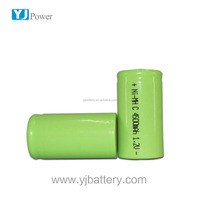 battery rechargeable aaa nimh battery pack 12v 4500mah c size with smart charger