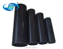 100% virgin raw material HDPE PE100 black plastic pipes for transporting water and gas