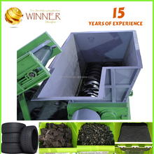 For waste rubber and tire cutting and recycling machine for sale