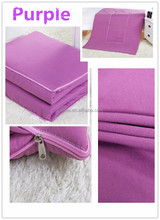 China Supplier Portable Cotton Baby Blanket/2 In 1 Blanket That Folds Into Pillow