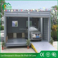 Modified shipping container carport / two car portable garage