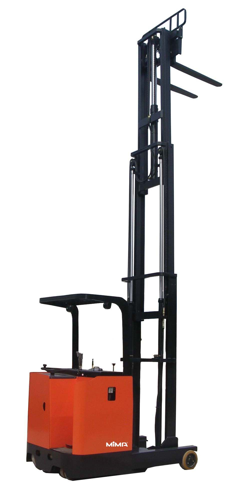MIMA Electric Reach Truck for Cold Storage Use with lifting 7.2m
