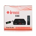 I Free Receiver X88 Digital satellite Receiver Set Top Box