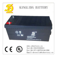 high quality 12v 200ah solar wind power storage sealed lead acid battery