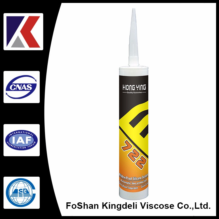 non acetic mildew resistant silicone sealant for bathroom