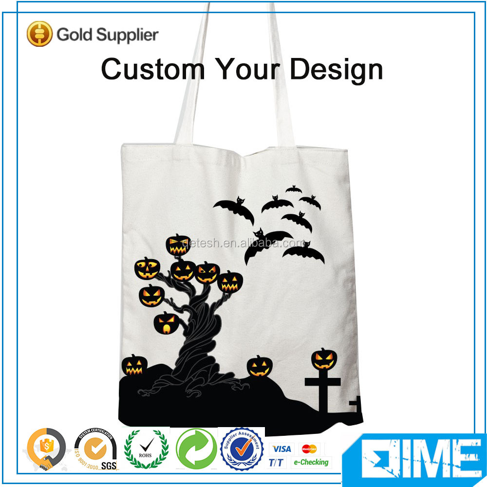Newly customized cotton canvas tote shopper bag