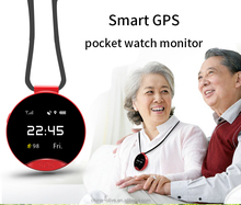 GSM quad-band two-way calling SOS GPS smart digital mobile phone pocket watch