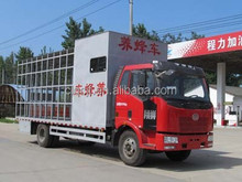 FAW mobile beekeeping truck , animal transport trucks , bee transportation vehicles