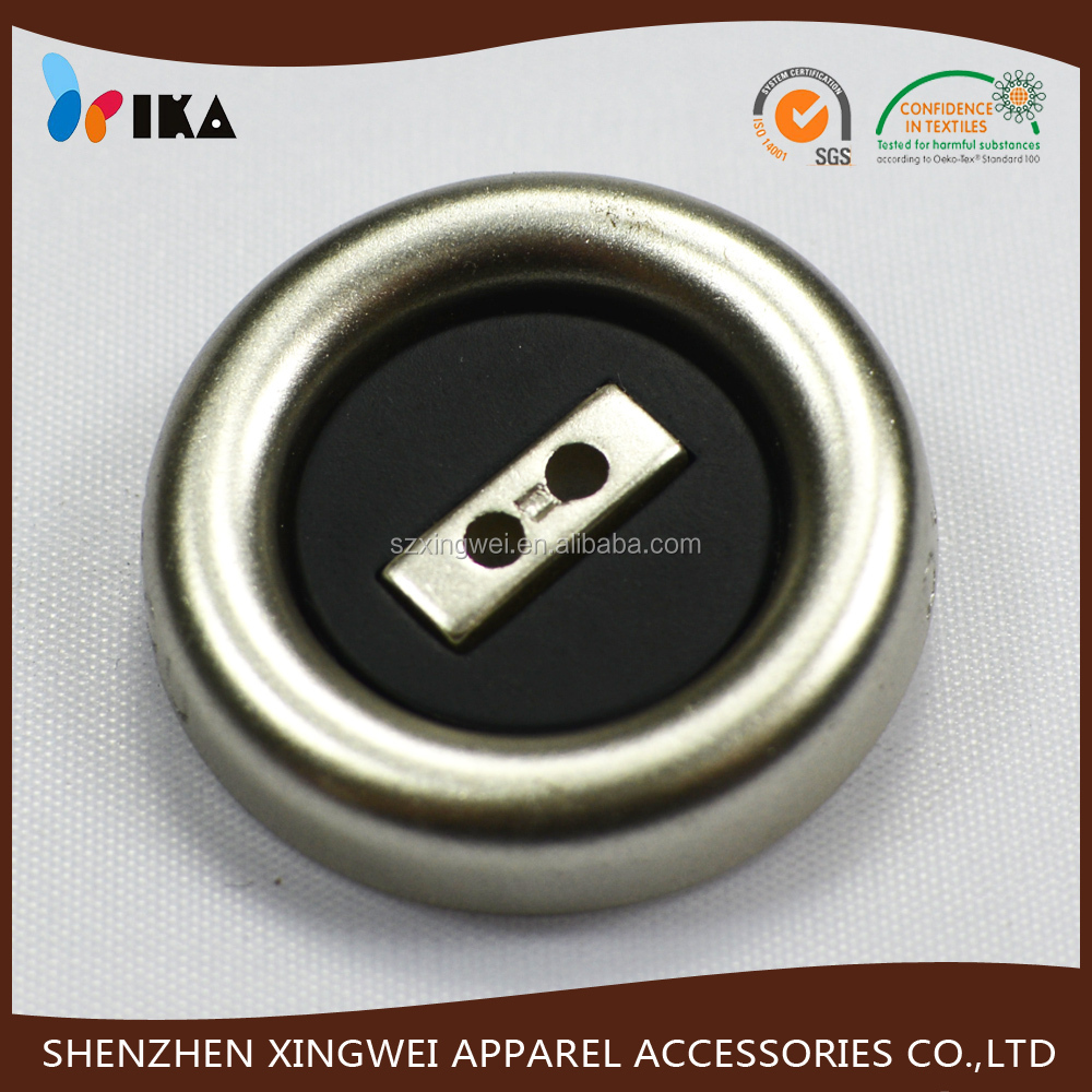 Plastic large size sew on abs button