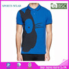 2015 Fashion polo shirt for men, slim fit polo t-shirt with printing high quality polo shirt