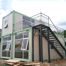 Flat pack modern luxury living homes prefabricated house container