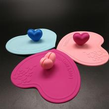 Customized Food grade silicone cup cover silicone cup lid