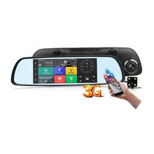 3G Car DVR Rearview Mirror Wifi Function Car DVR with 1080P