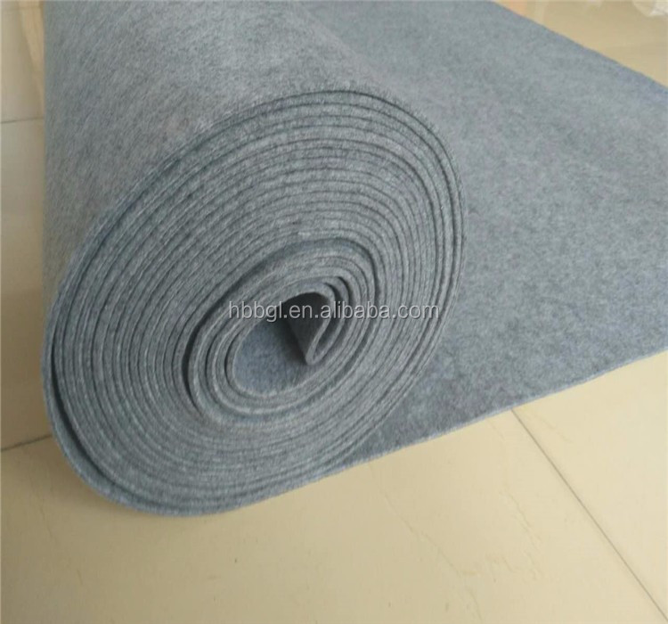 2016 HOT Sales Needle100% Industrial Wool Felt/ non-woven fabric/felt /3mm Natural Wool Felt for industry or craft