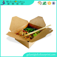 Recycled China Wholesale Salad Container Disposable Chinese Noodles Food Box Take Away