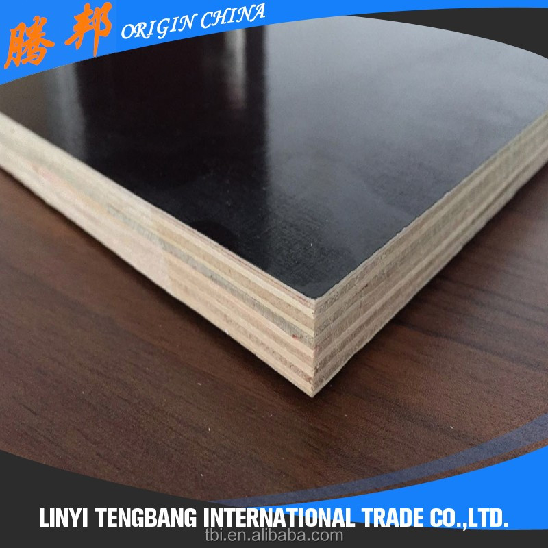 18mm Black Construction Waterproof Plywood