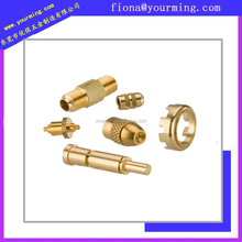 anodizing nature color brass parts