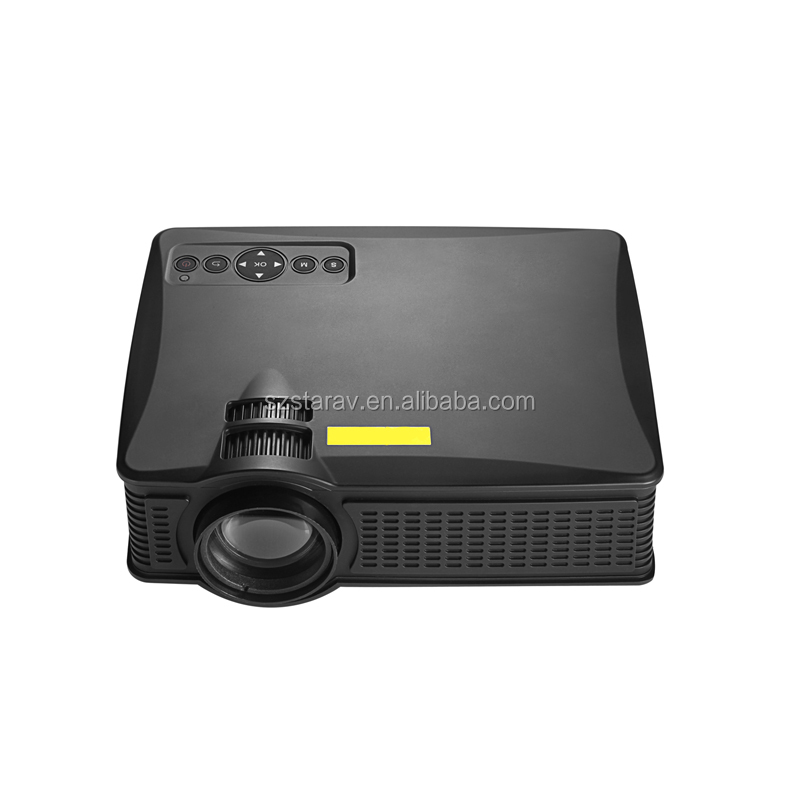 Newest Christmas gift SD50+ Mini Led Projector Home Theater Lcd Pico Projector HD 1080p better than UC40 &GM60 but cheaper