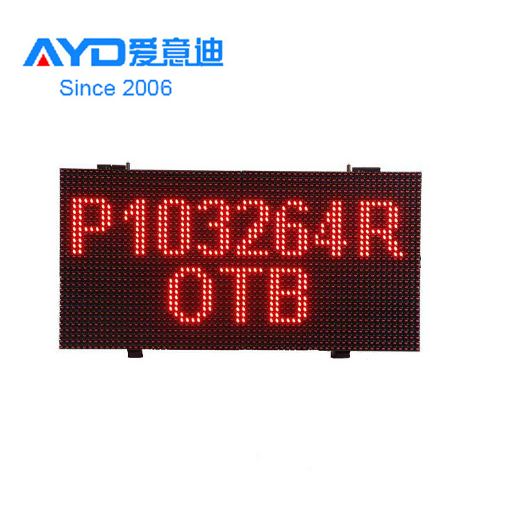 Hot Sale Red Color Outdoor <strong>Advertising</strong> 32*64 Aluminum Profile for <strong>P10</strong> LED <strong>Sign</strong>